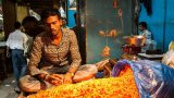 שוק הפרחים בבנגלור, הודו - יואב בן אליעזר